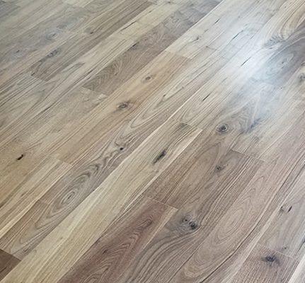 wide plank engineered hardwood walnut
