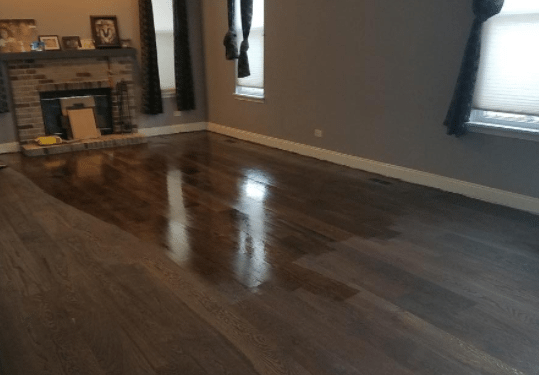 refinishing engineered hardwood flooring color