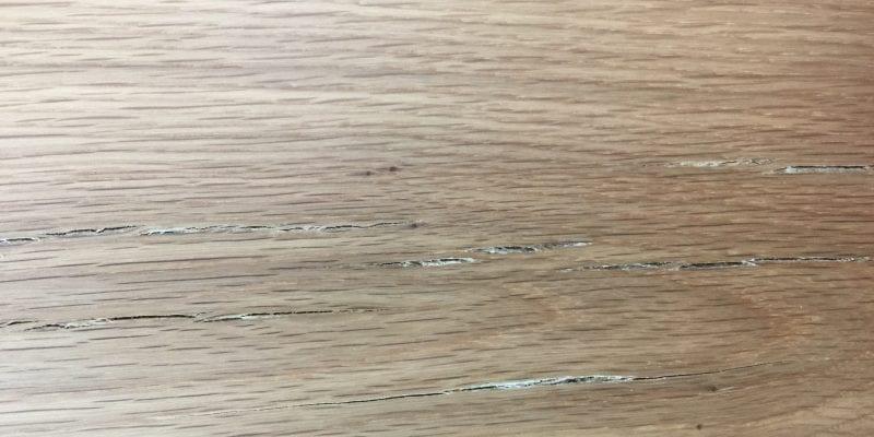 checking cracking cracks hardwood flooring